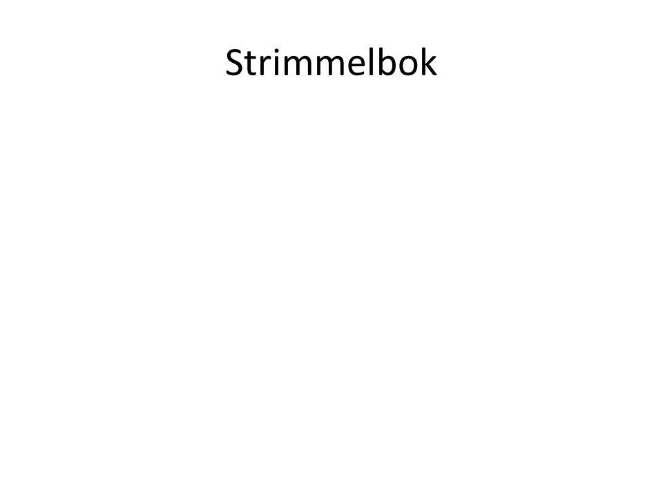 Strimmelbok