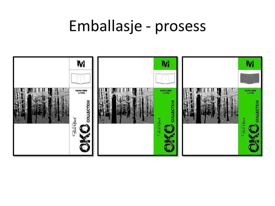 Emballasje - prosess
