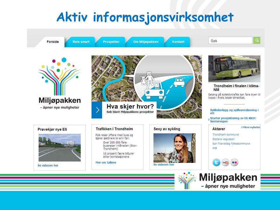 Aktiv informasjonsvirksomhet