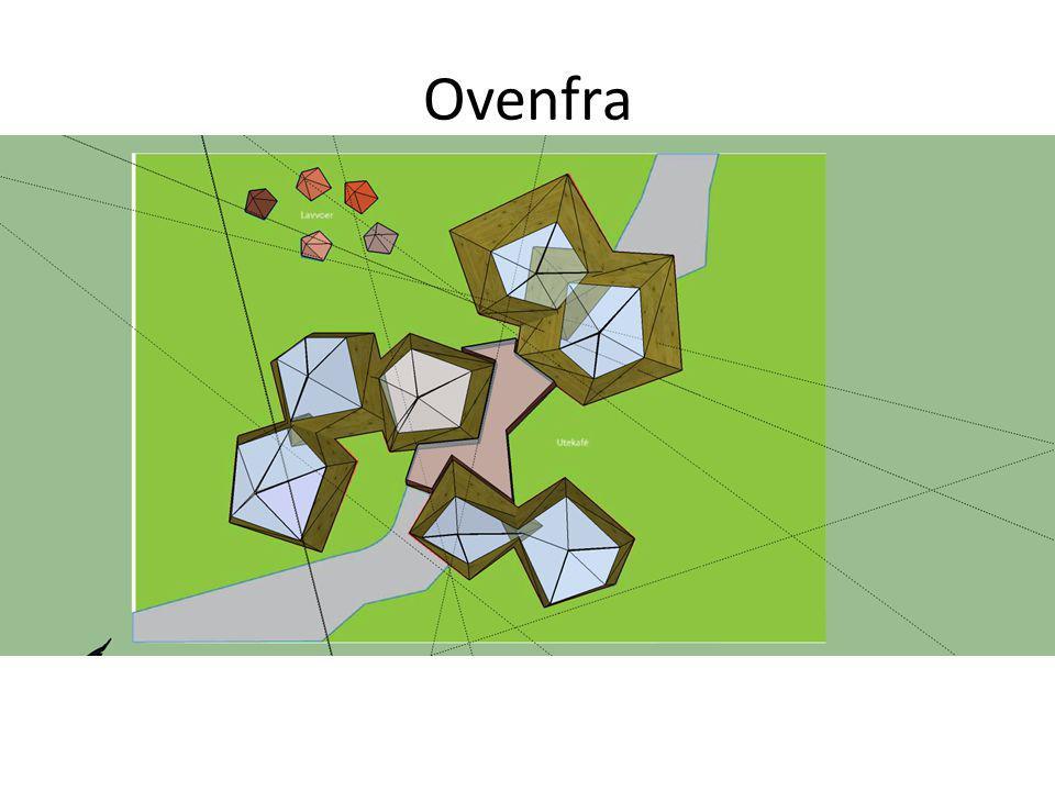 Ovenfra