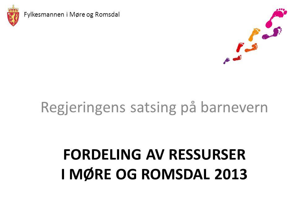 Fylkesmannen i Møre og Romsdal Fase 2: Utfordringsbilde og mulige veivalg for kommuner i Møre og Romsdal • Utfordringsbilde for kommunene – bærekraftighet på lang sikt.
