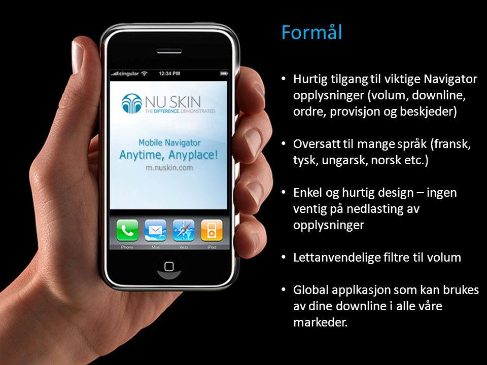 Hurtig start • Gå til m.nuskin.com på mobilen din • Skriv inn brukernavnet og passordet ditt på nettet