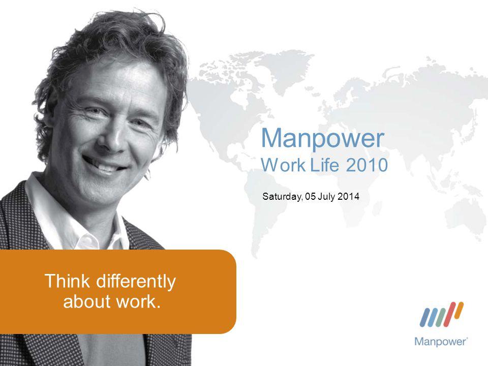 Manpower 2 Saturday, July 05, 2014 Utenlands- rekruttering og kompetansebrist