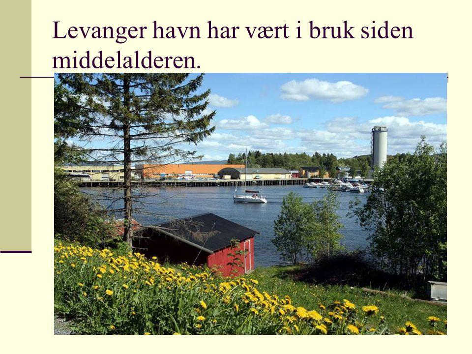 2009 © Greta Tvete Vollan1 Levanger havn har vært i bruk siden middelalderen.