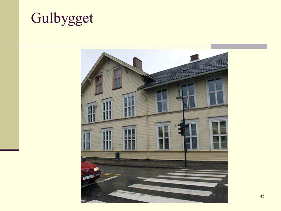 2009 © Greta Tvete Vollan45 Gulbygget
