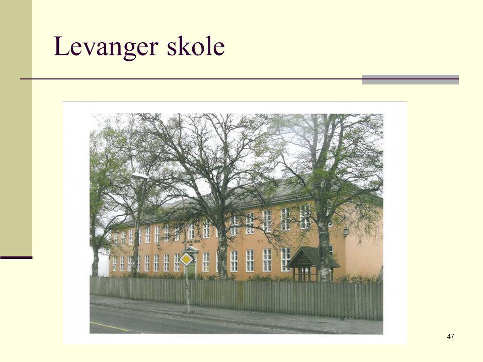 2009 © Greta Tvete Vollan47 Levanger skole