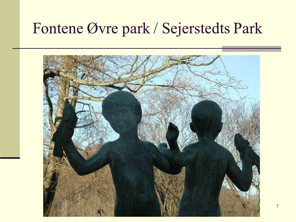 2009 © Greta Tvete Vollan7 Fontene Øvre park / Sejerstedts Park