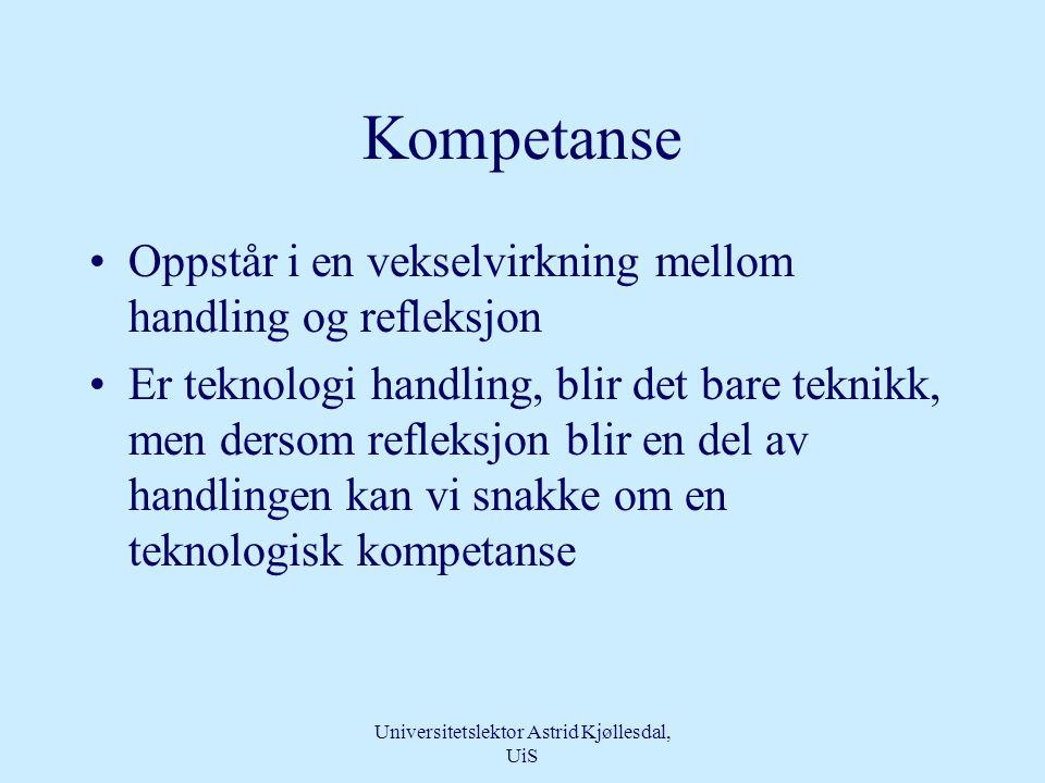 Universitetslektor Astrid Kjøllesdal, UiS Omgivelser •Fremmede rom –Ukjente lyder og lukter •Mange fremmede mennesker •Høyteknologi –forsterker alvore