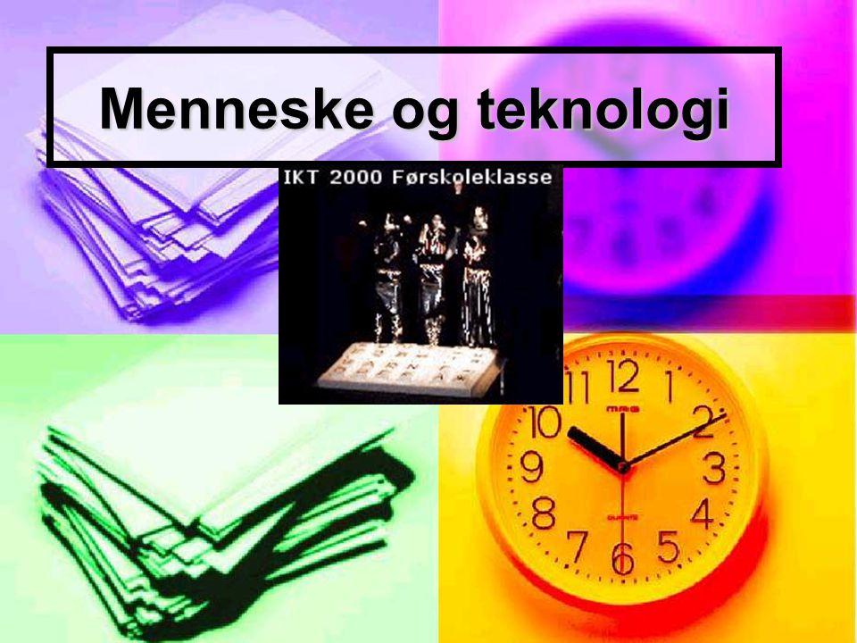 Menneske og teknologi