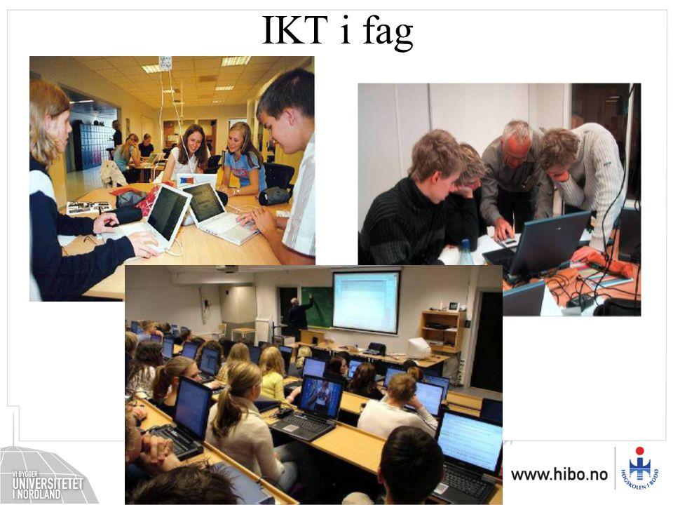 IKT som kunnskapsfelt •Betydningen av medier og teknologi som eget kunnskapsfelt – medieutviklingen •Sette medieutviklingen inn i et større perspektiv •IKT og samfunn
