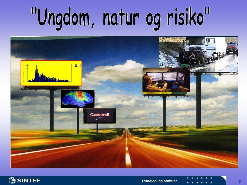 Teknologi og samfunn 13 HVA ER Å KJØRE VELDIG FORT I EN 80/90-sone?