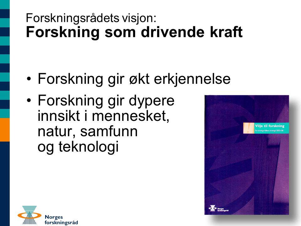 Strategipunkter av særlig relevans for næringslivet (1) •Økt innovasjonstakt i næringslivet er en hovedutfordring for norsk økonomi •Økt FoU-innsats er viktig for å få til innovasjon •Skattereglene for næringslivets FoU i tråd med Hervikutvalgets innstilling