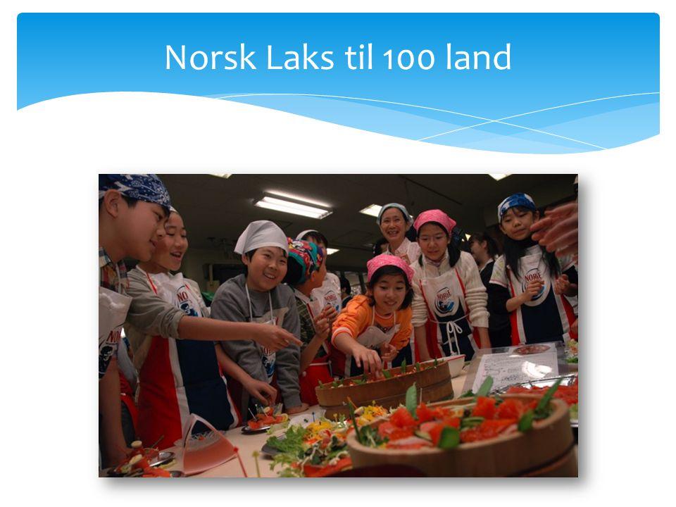 Norsk Laks til 100 land