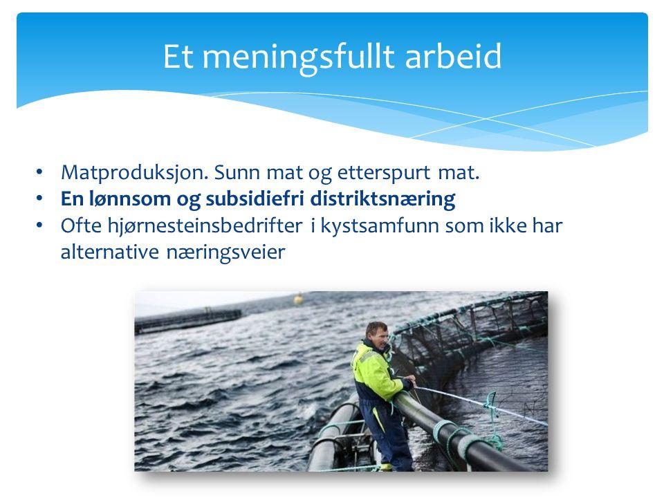 Teknologiutvikling Illustrasjoner fra prosjektet Systems and Product Design within Seabased Fish Farming (NTNU, 2011)