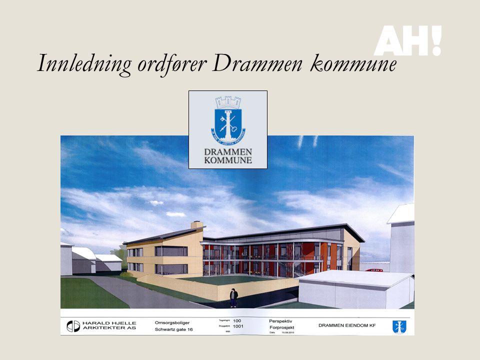 Innledning ordfører Drammen kommune