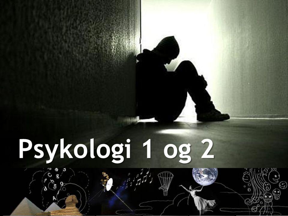 Psykologi 1 og 2