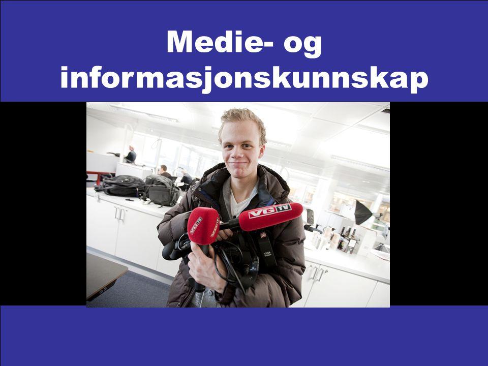 Medie- og informasjonskunnskap