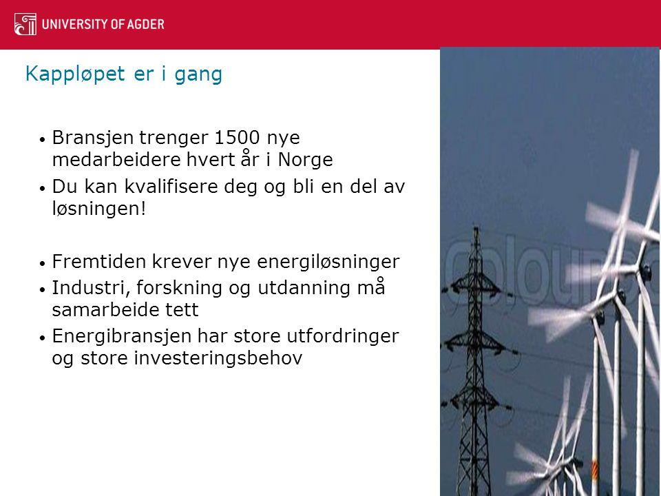 Kappløpet er i gang • Bransjen trenger 1500 nye medarbeidere hvert år i Norge • Du kan kvalifisere deg og bli en del av løsningen.
