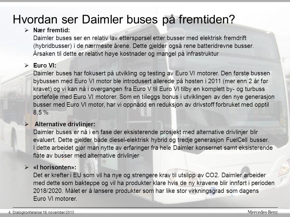 Hvordan ser Daimler buses på fremtiden.