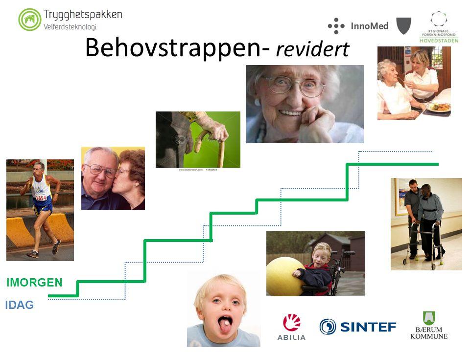 Behovstrappen- revidert IDAG IMORGEN