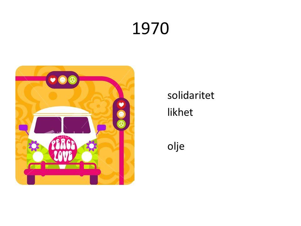 1970 solidaritet likhet olje