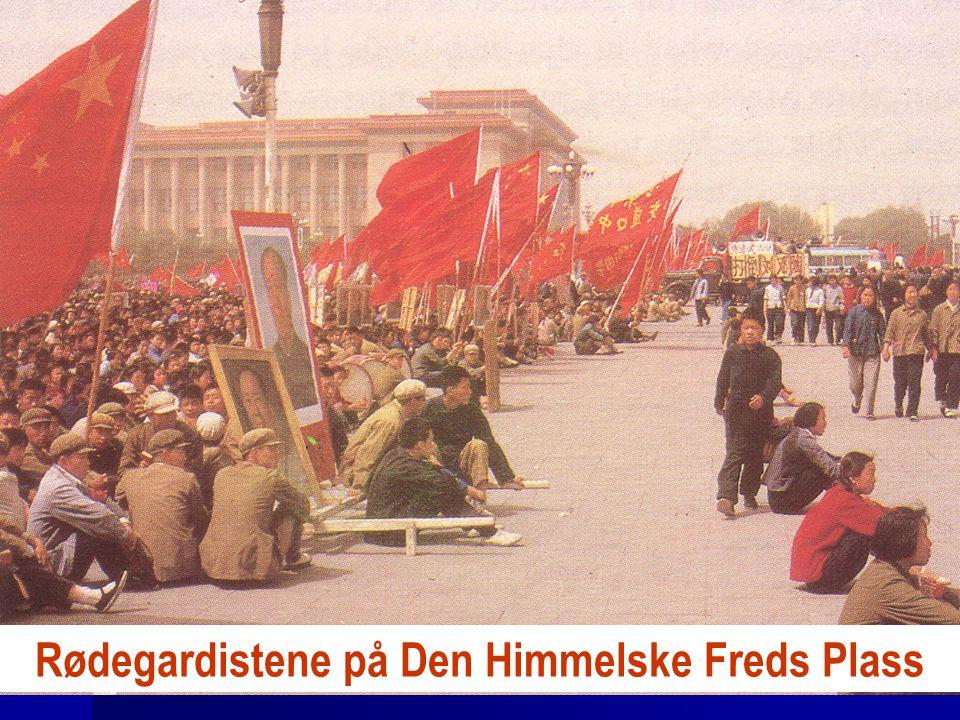 Rødegardistene på Den Himmelske Freds Plass