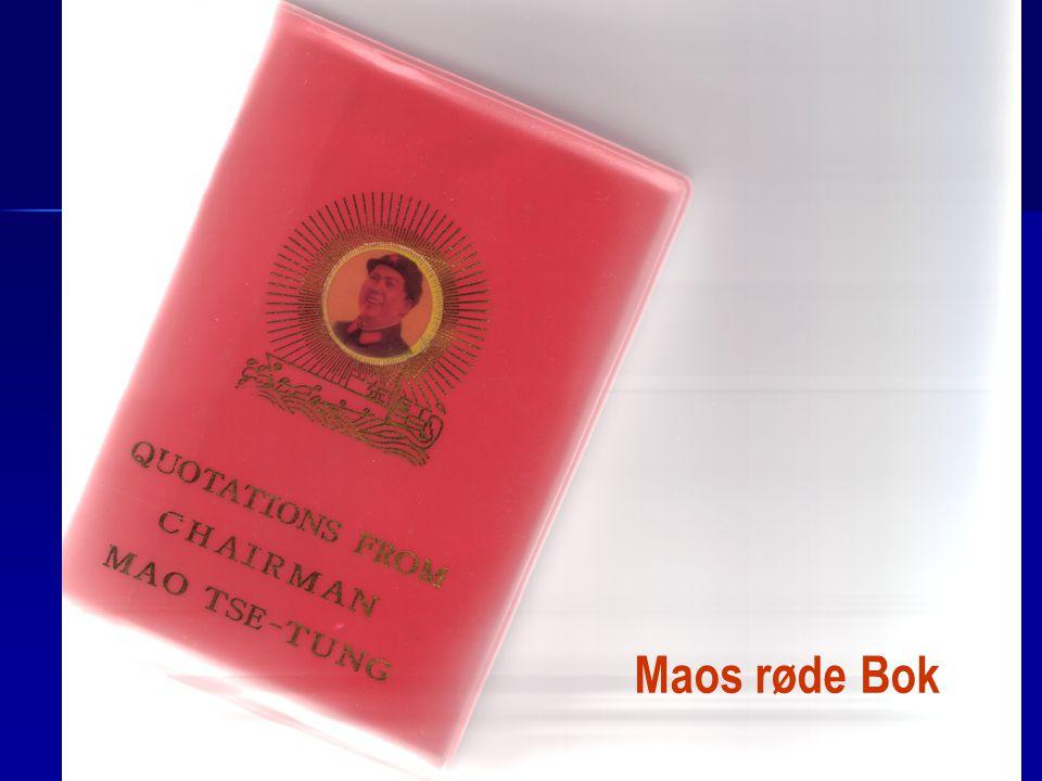 Alle måtte ha Mao røde bok for å handle eller reise