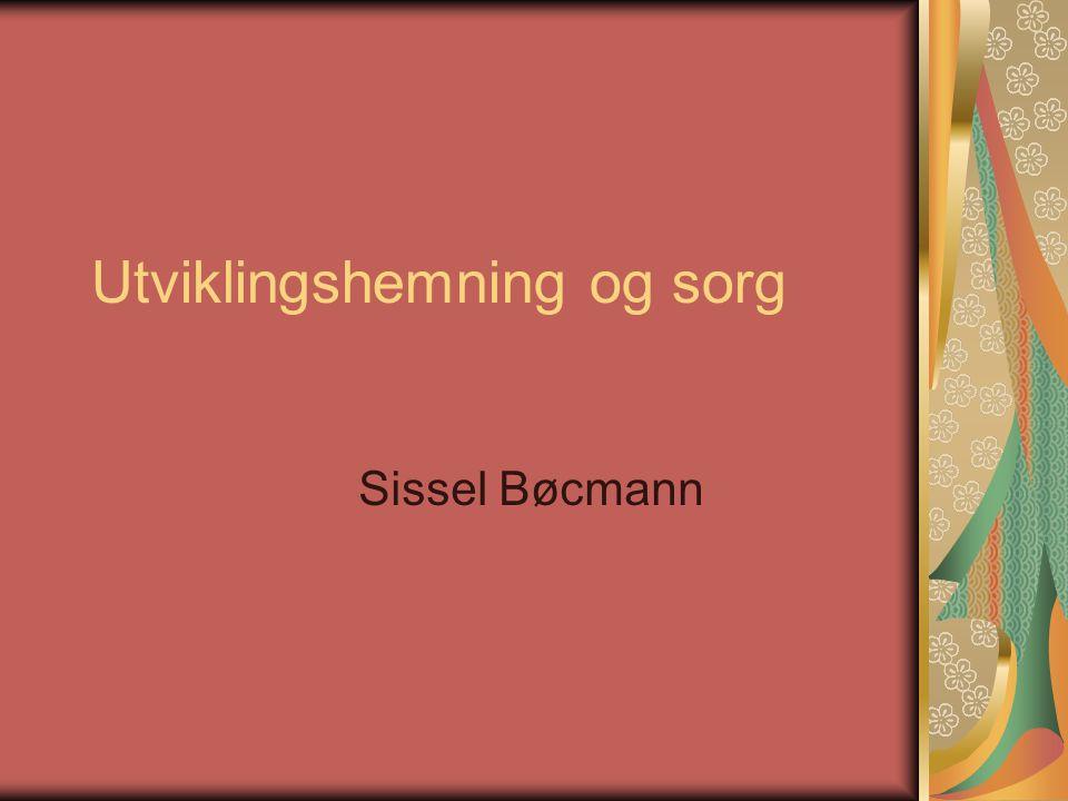 Utviklingshemning og sorg Sissel Bøcmann
