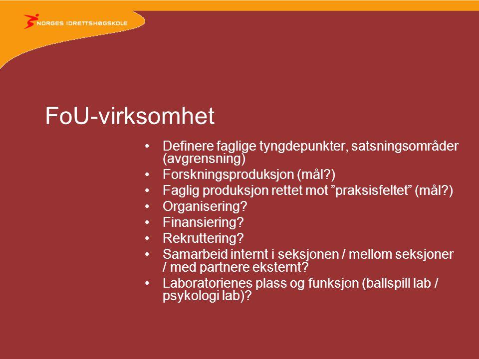 Studier •BA-studiene: a) Våre moduler i ulike program.
