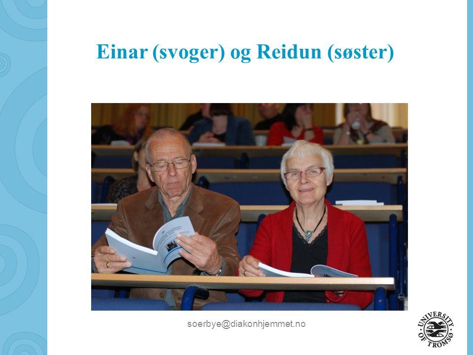 soerbye@diakonhjemmet.no Torgeir (sønn) og Sigrunn (svigerdatter) gratulerer