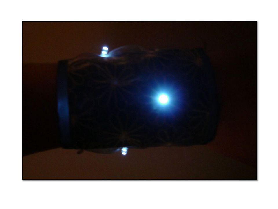 TEKNISK TEGNING OVER KRETS Batteriet må tas ut og inn for å slå på/av lysdioden.
