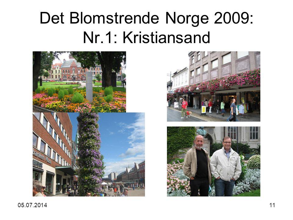 05.07.201411 Det Blomstrende Norge 2009: Nr.1: Kristiansand