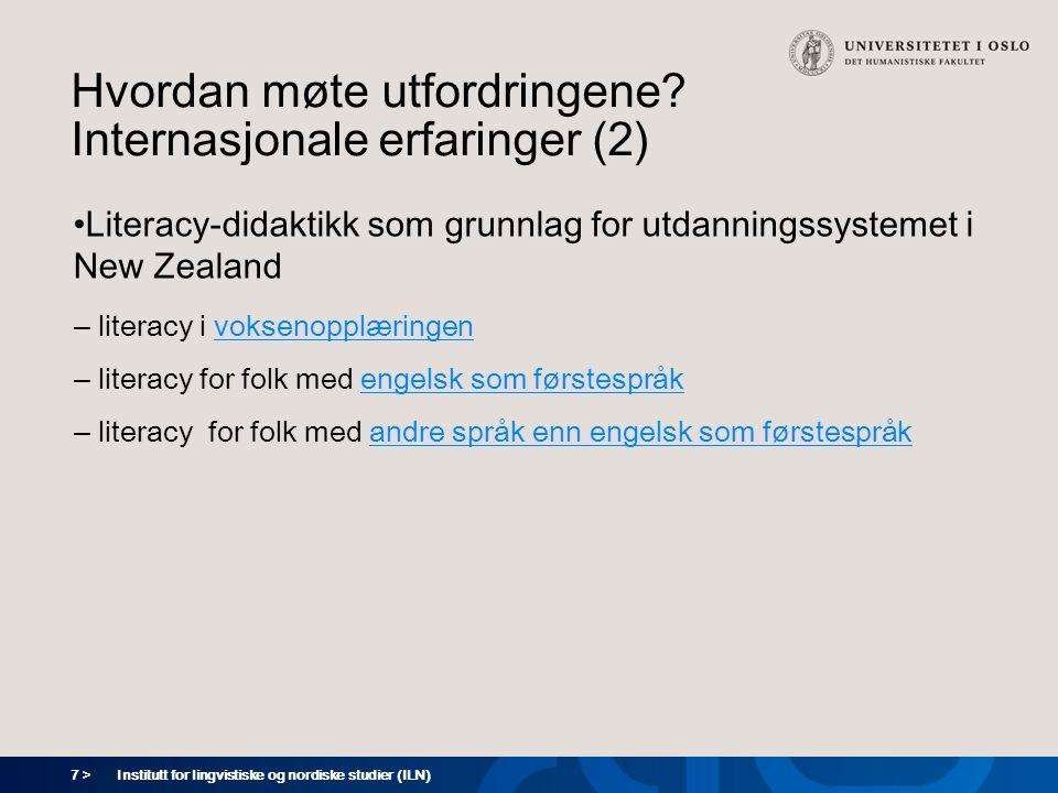 18 > Institutt for lingvistiske og nordiske studier (ILN)