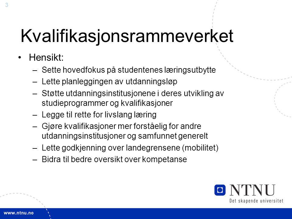 4 Disposisjon 1.Prosess ved NTNU 2.Utfordringer knyttet til KRV: hvordan kan vi bidra.