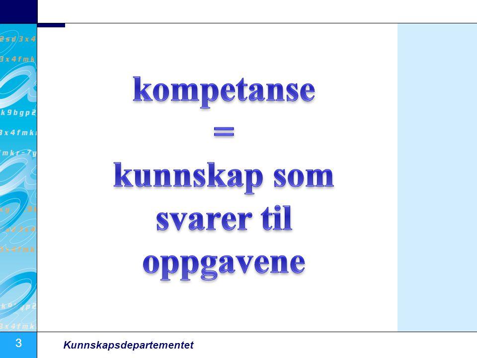 14 Kunnskapsdepartementet Høye krav til læring fører til økt deltakelse, også blant de med lav utdanning Kilde: LVM 2008, Torgeir Nyen, Fafo