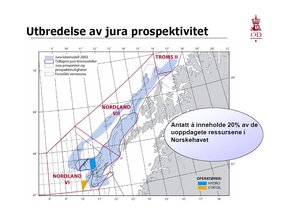 19 Antatt å inneholde 20% av de uoppdagete ressursene i Norskehavet