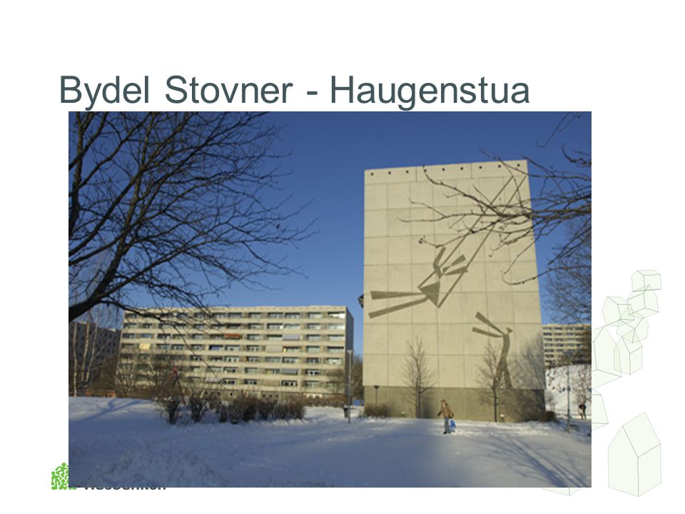 Bydel Stovner - Haugenstua