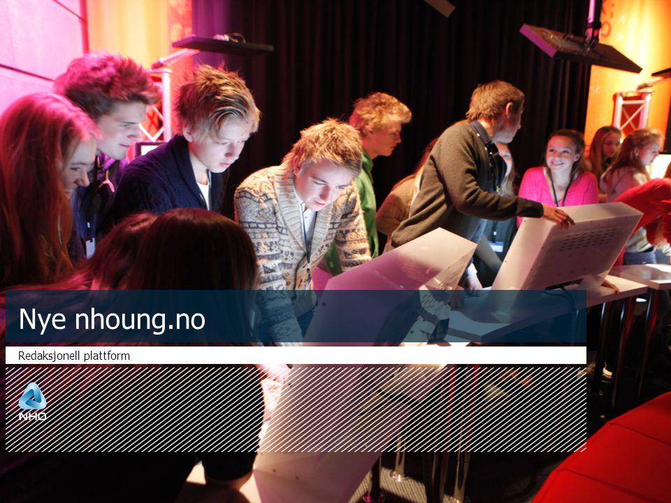 Nye nhoung.no Redaksjonell plattform