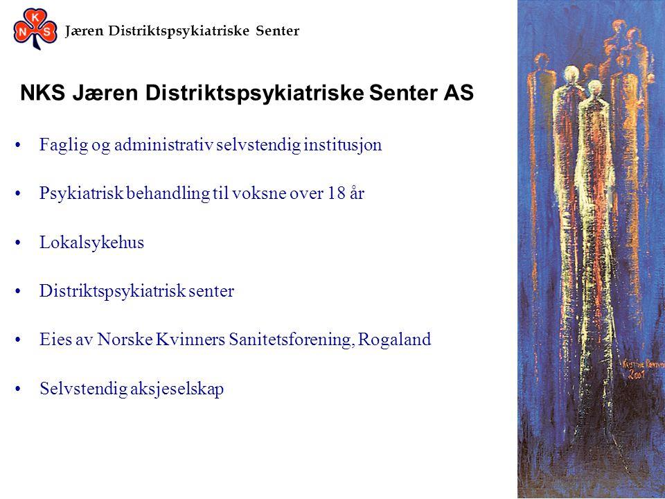 Jæren Distriktspsykiatriske Senter Jæren DPS forts..