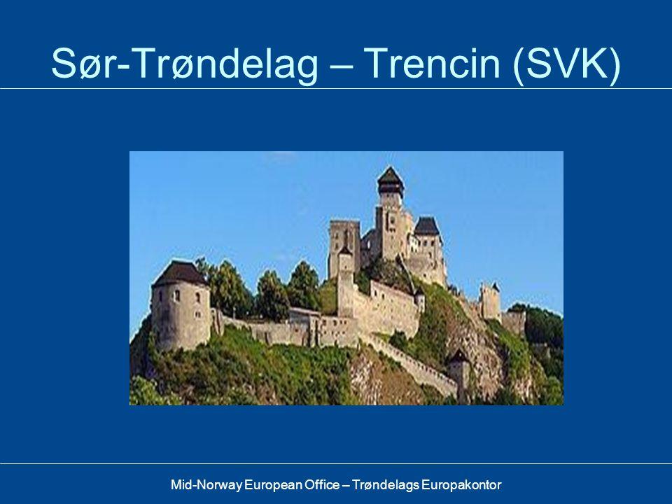 Mid-Norway European Office – Trøndelags Europakontor Europeisk integrasjon, kulturarv •Kulturarv – krysser nasjonsgrenser •Felleskapsfølelse / integra
