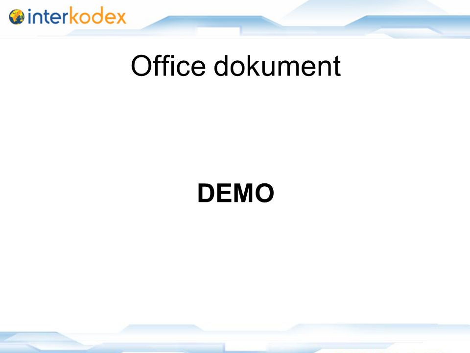 23 Office dokument DEMO