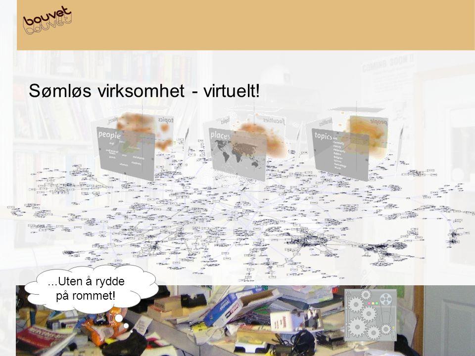 Sømløs virksomhet - virtuelt!...Uten å rydde på rommet!