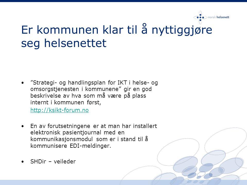 Velkommen til Norsk Helsenett