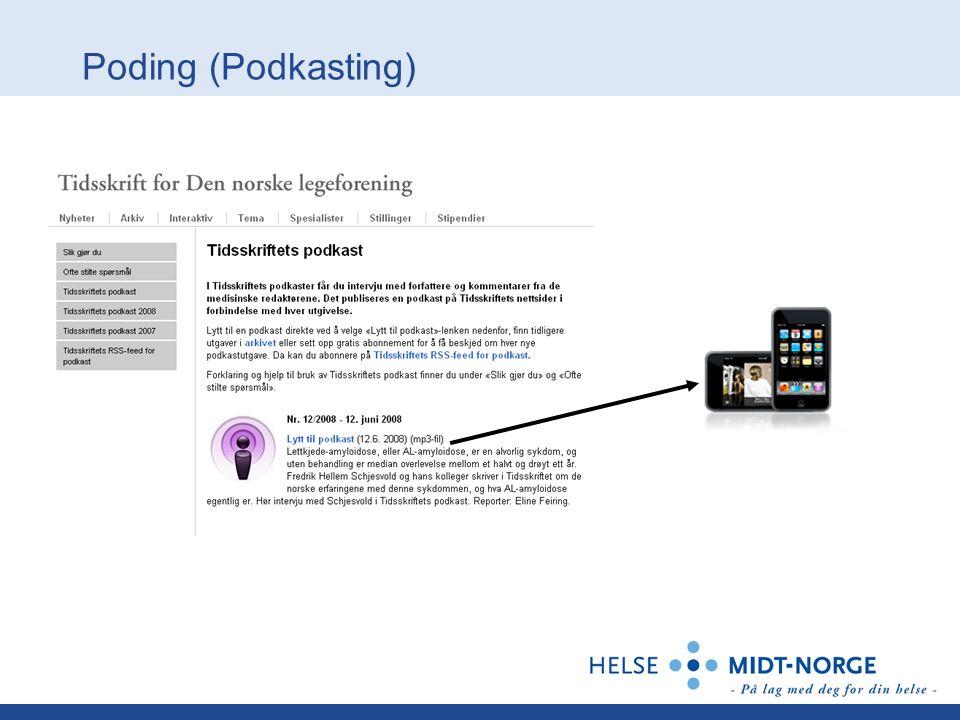 Poding (Podkasting)