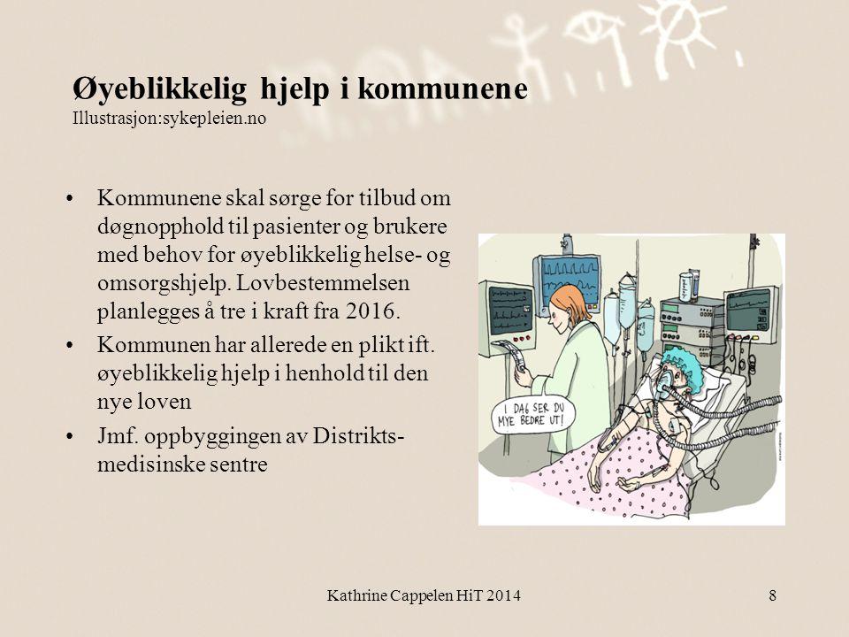 Øyeblikkelig hjelp i kommunene Illustrasjon:sykepleien.no •Kommunene skal sørge for tilbud om døgnopphold til pasienter og brukere med behov for øyebl