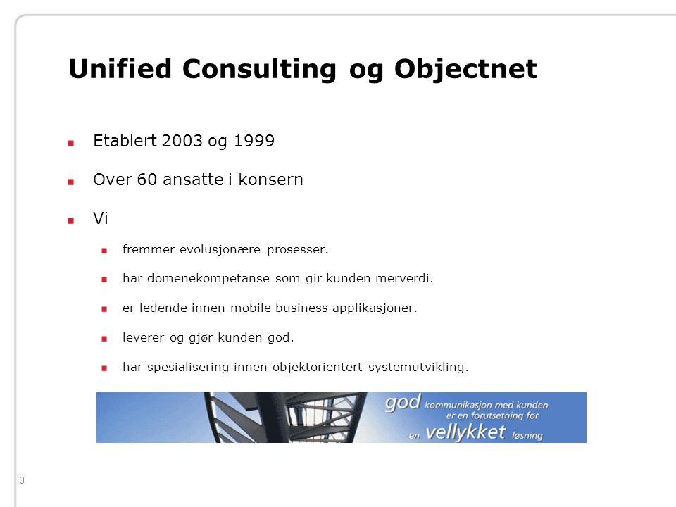 3 Etablert 2003 og 1999 Over 60 ansatte i konsern Vi fremmer evolusjonære prosesser.