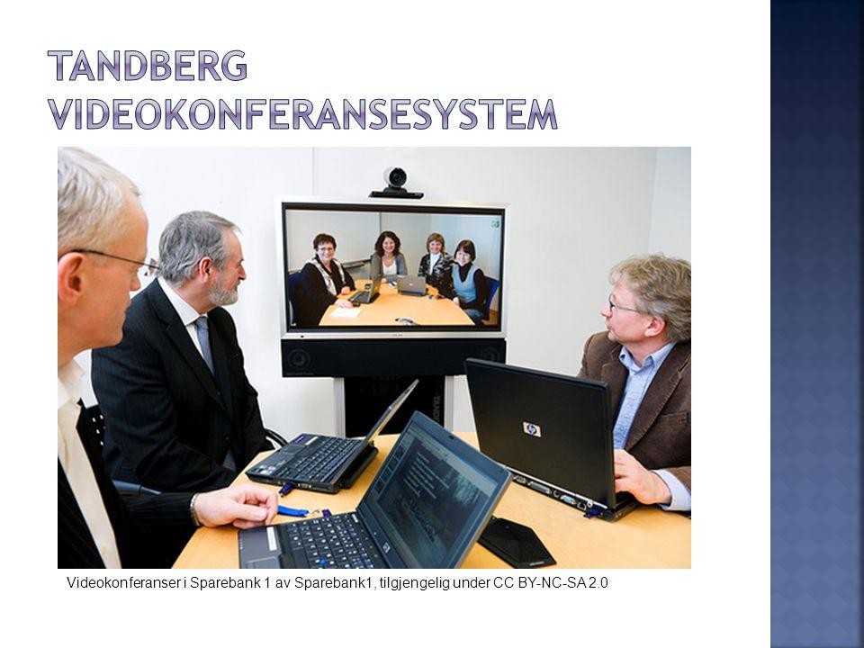 Videokonferanser i Sparebank 1 av Sparebank1, tilgjengelig under CC BY-NC-SA 2.0