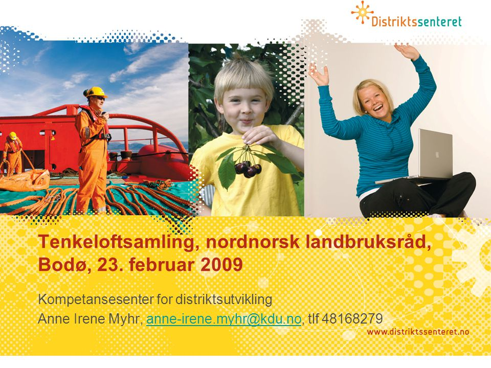 Tenkeloftsamling, nordnorsk landbruksråd, Bodø, 23.