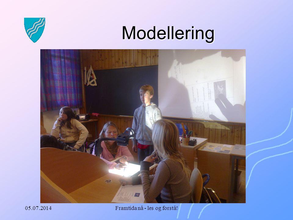 05.07.2014Framtida nå - les og forstå! Modellering