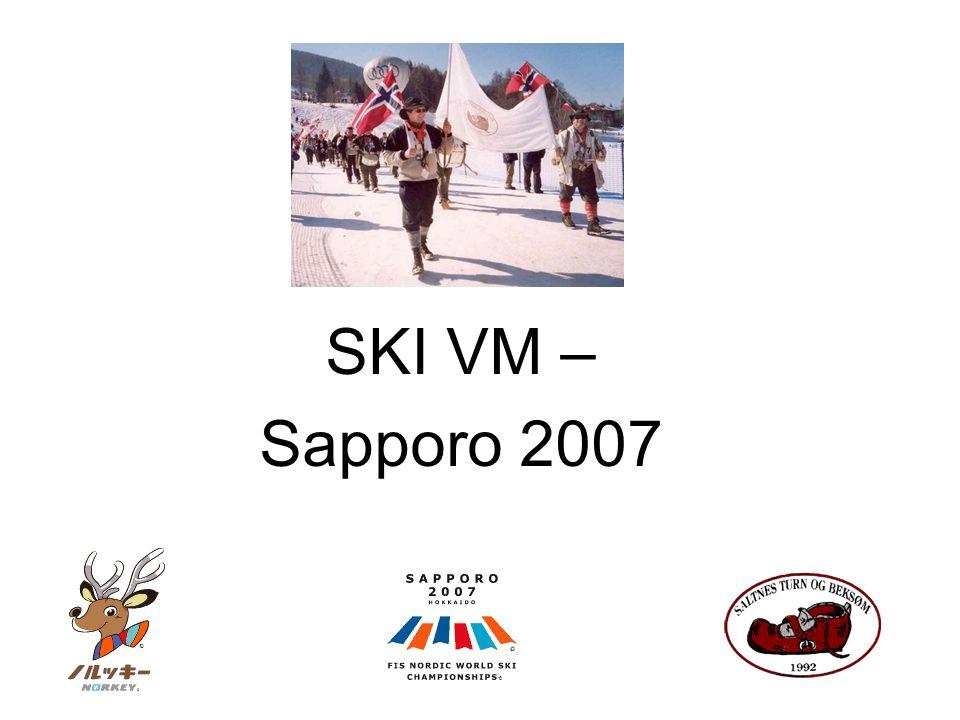 SKI VM – Sapporo 2007